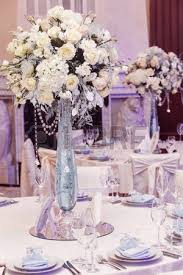 Expensive Vases Luxury Wedding Decor With Flowers And Glass Vases With Jewels