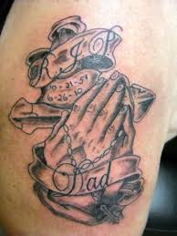 100 cross with praying hands tattoos 35 cool u0026 amazing