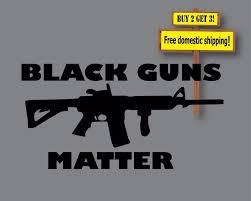 hoonigan sticker bomb black guns matter decal sticker nra lives choose color 6