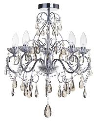 Coloured Chandelier by New Coloured Crystal Bathroom Chandeliers Litecraft