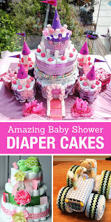 how to make a cake for a girl 15 creative cakes diy baby shower party ideas