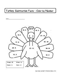 thanksgiving math worksheets and 2nd grade by apple house