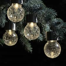 Hanging Tree Lights by Color Changing U0026 White Led Crackle Glass Hanging Solar Lights For