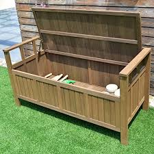 Outdoor Bench With Storage Giantex 70 Gallon Storage Bench All Weather Outdoor Patio Storage