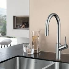 faucet kitchen blanco 403730 urbena pull kitchen faucet in chrome york taps