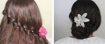 hair steila simpl is pakistan party hairstyles waterfall braid bun christmas thanksgiving