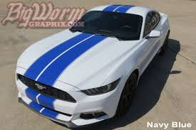 white mustang blue stripes 2015 17 mustang pinstripe dual length stripes bigwormgraphix com