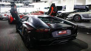 Lamborghini Aventador Nero Nemesis - stealthy satin black lamborghini aventador hits the market gtspirit