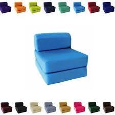 Folding Foam Bed Choose Size Single Sleeper Chair Seat Mattress Folding