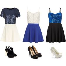 blue new years dresses new year s polyvore