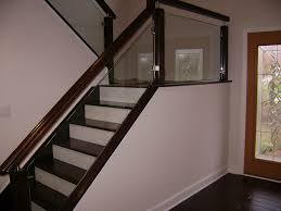 Glass Banisters For Stairs Railings Mirrors And More U2014 Solon Glass