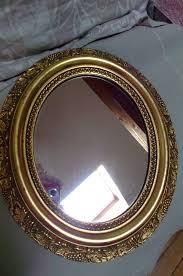 old wood mirror gold paint ormolu leaves grapes home decor from