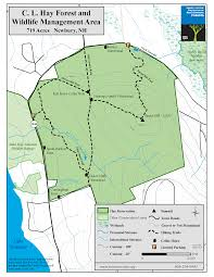 Stony Brook Map Hay Reservation Forest Society