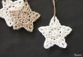 crochet pattern ornaments darice