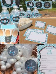 michael baby shower decorations boy baby q decorations blue baby q couples baby shower coed