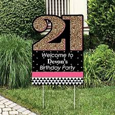 21st Party Decorations Finally 21 21st Birthday Birthday Party Theme