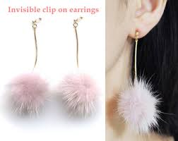 invisible earrings for school pierced look and comfortable invisible clip on by miyabigrace