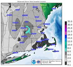 Snowfall Totals Map Massachusetts Snowfall Totals The Boston Globe