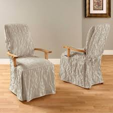 Arm Chair Covers Design Ideas Wonderful Dining Room Chair Covers Arms Ideas Endearing Arm Chair