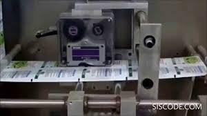 codificador por transferencia térmica 8018 siscode youtube