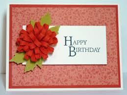 barb u0027s bunny hutch felt flower birthday card