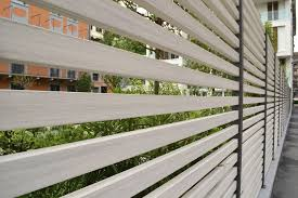 Wade Floor Drains Supplier In Qatar by Garden Fence Louvered Wood Plastic Composite Brushed