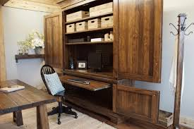 Farmhouse Armoire Farmhouse Office Suite Armoire Liken Woodworks