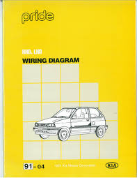 kia pride wiring diagram free download with electrical pictures