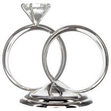 silver diamond ring cake topper hobby lobby 109918