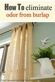 Burlap Drapery 85 Best Burlap Curtains Images On Pinterest Burlap Curtains