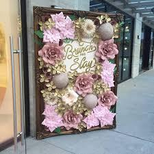 wedding backdrop rental nyc best 25 paper flower backdrop ideas on flower