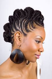 pictures on pictures of african american braided updo hairstyles