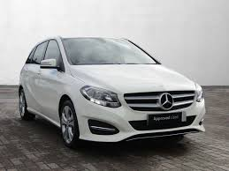 mercedes white used mercedes benz b class white for sale motors co uk