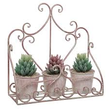 Wall Mounted Planter Beautiful Metal Planters For Wall Decoration Strong And Stable