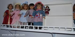 on the shelf doll american girl minis display shelf doll diaries