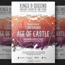 example of a flyer for an event event poster vectors photos and psd files free download