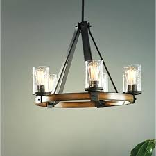 Wood Chandelier Canada Capiz Shell Lighting Chandelier 4 Light Aged Iron And Wood