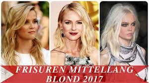 Frisur Blond 2017 Bob by Frisuren Mittellang Blond 2017