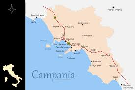 Capri Italy Map by Campania Map And Travel Guide
