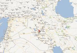 map of baghdad baghdad map