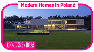 modern homes in poland stunning minimalist home in poland youtube