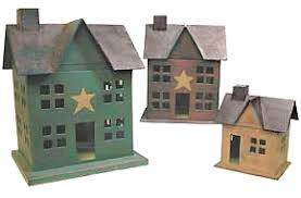 lighted houses for decoration country home decor store rustic