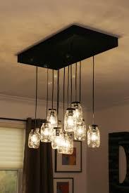 kitchen lighting chandelier mason jar kitchen lights home decoration ideas