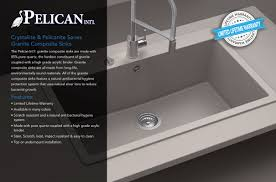 What Are Bathroom Sinks Made Of Wholesale Granite Composite Sinks Pelicn Int U0027l