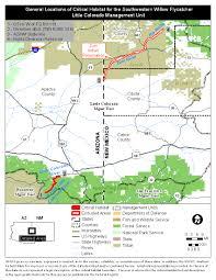 Map Of Southwest Colorado by Southwest Region Arizona Es Field Office