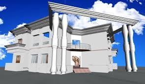 duplex house 3d cgtrader