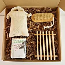 gardeners clean up soap gift box soap for gardeners housewarming