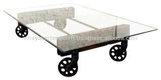 Glass Coffee Table With Wheels Antique Iron Wheels Antique Iron Wheels Suppliers And