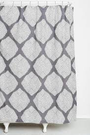 Black Grey And White Shower Curtain Magical Thinking Pompom Gray Shower Curtain