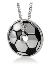 stainless steel ball necklace images Women s steel soccer ball necklace phil 4 13 jpg
